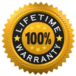 Lifetime Warranty Gold Seal icon